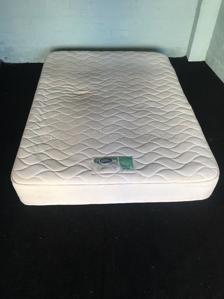 Double silent night Mattress (free delivery)