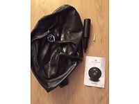 Matt Roberts gym ball/ fitness ball with pump (55cm) Black