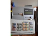 Sharp XE-A303 Electronic Cash Register In Full Working Order