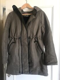 Brand new coat from famous French label