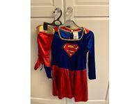 Superwoman costume aprox age 5-6