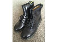 Dr Martens Air Walkers Black Boots Size 8