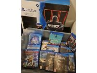 Ps4 console with games