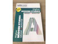 SQA Higher Modern Studies revision books ( 4 books)