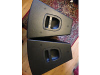 Active Speakers DB Technologies F315 And a Pair of DB 15D Subs