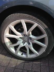 18 inch Audi speed line alloys