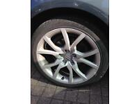 18 inch Audi speed line alloys
