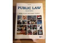 Public Law 2nd Edition Mark Elliott and Robert Thomas