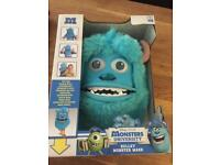 Sulley mask from monsters inc with box