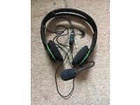 X Box360 headset