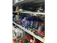 Homeware and hardware shop to clear