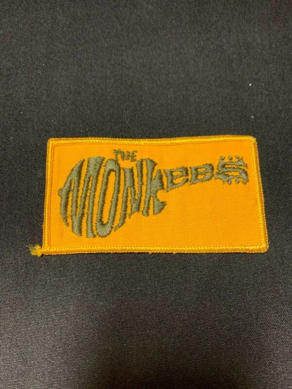 Lot of 5 The Monkees guitar logo Sew on Patch 4X2