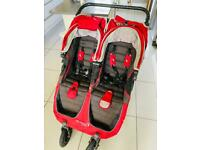 Baby Jogger City Mini GT Double Stroller Pushchair Buggy