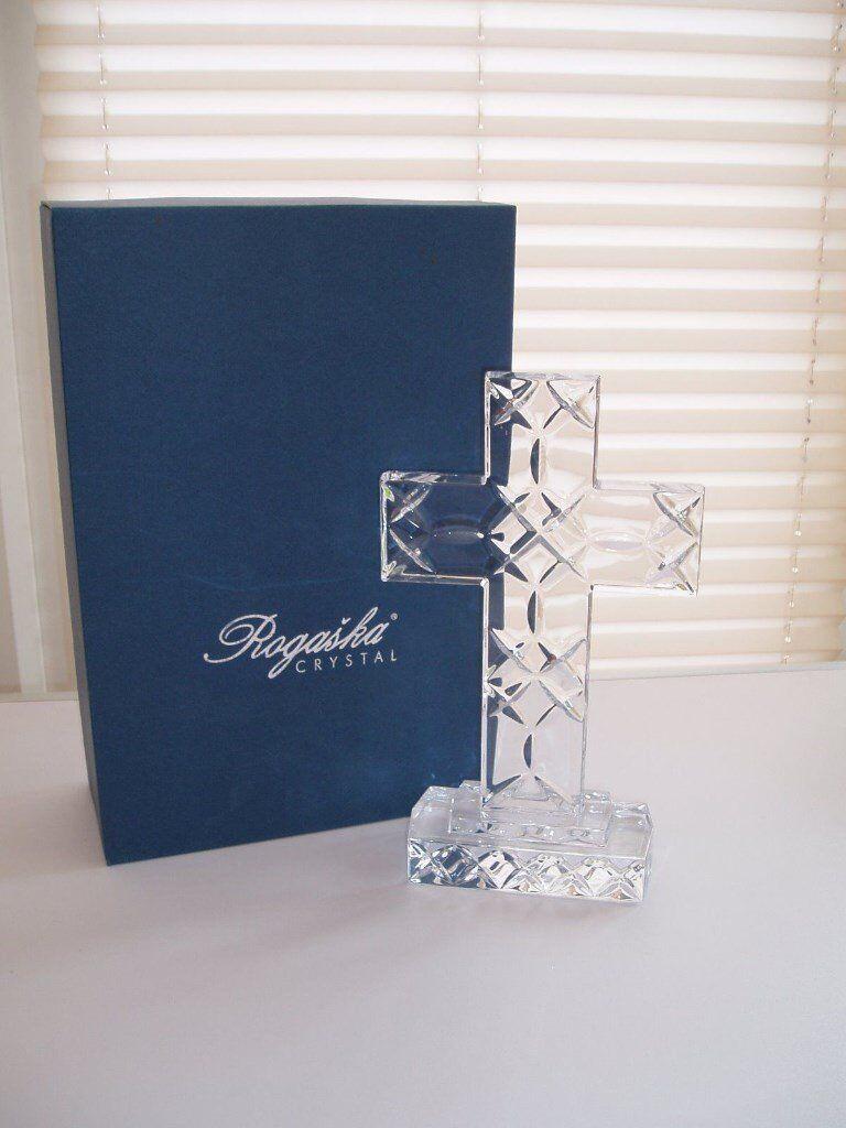 Lead Crystal Cross by Rogaska