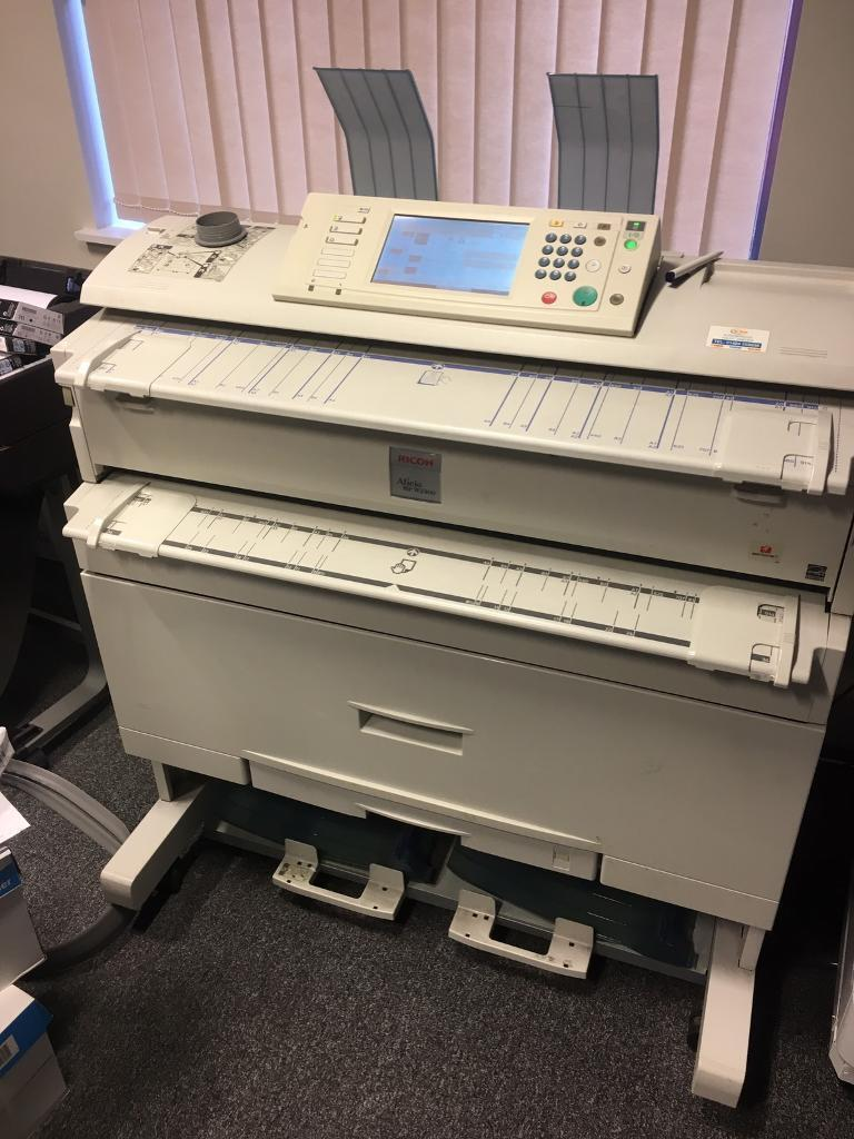 A0 printer - Ricoh Aficio MP W2400 | in Leeds, West Yorkshire | Gumtree