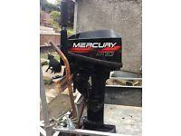 Mercury XR10 outboard motor
