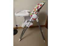 Versatile Red Kite highchair in immaculte condition