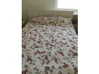 Double Bed, Mattress and Storage