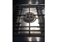 Fisher and Paykel Gas oven stove burner top - cash iron - single wok stand