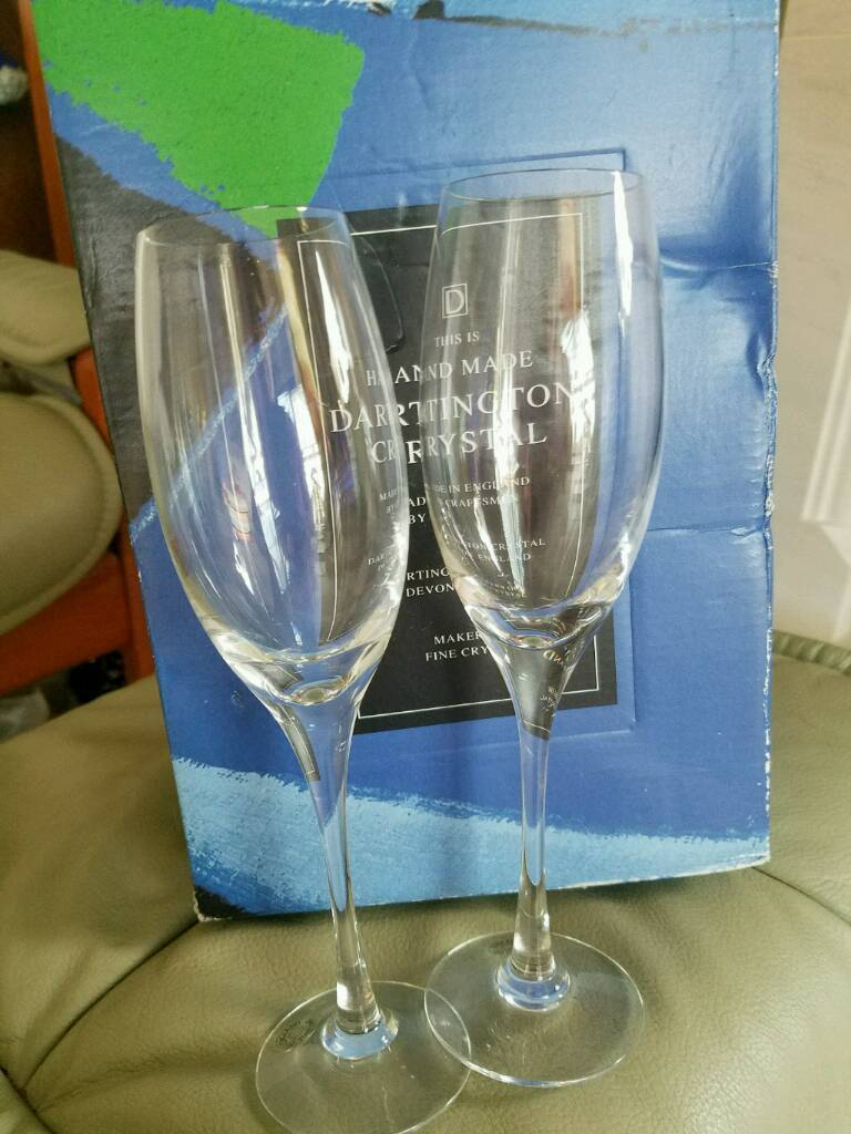 Dartington Crystal glasses