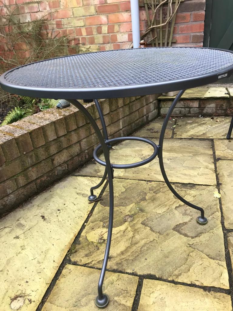 Garden & Patio Furniture Kettler Round 11cm Mesh Table Garden