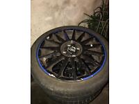Ford st alloy wheels 17inch