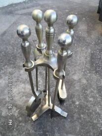 4 piece Fireplace Companion Set