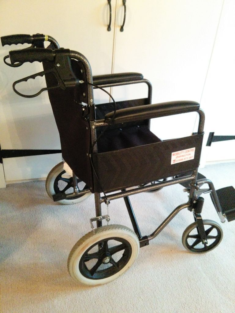 Foldable Collapsable Mobility Wheelchair Lightweight