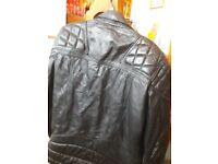 Leather TT Jacket.