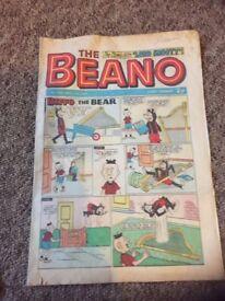 Vintage Beano comic