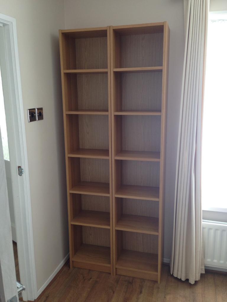 Ikea billy bookcase X 2