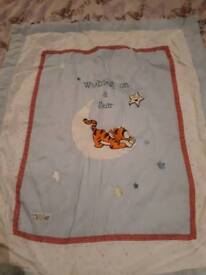 Baby quilted blanket
