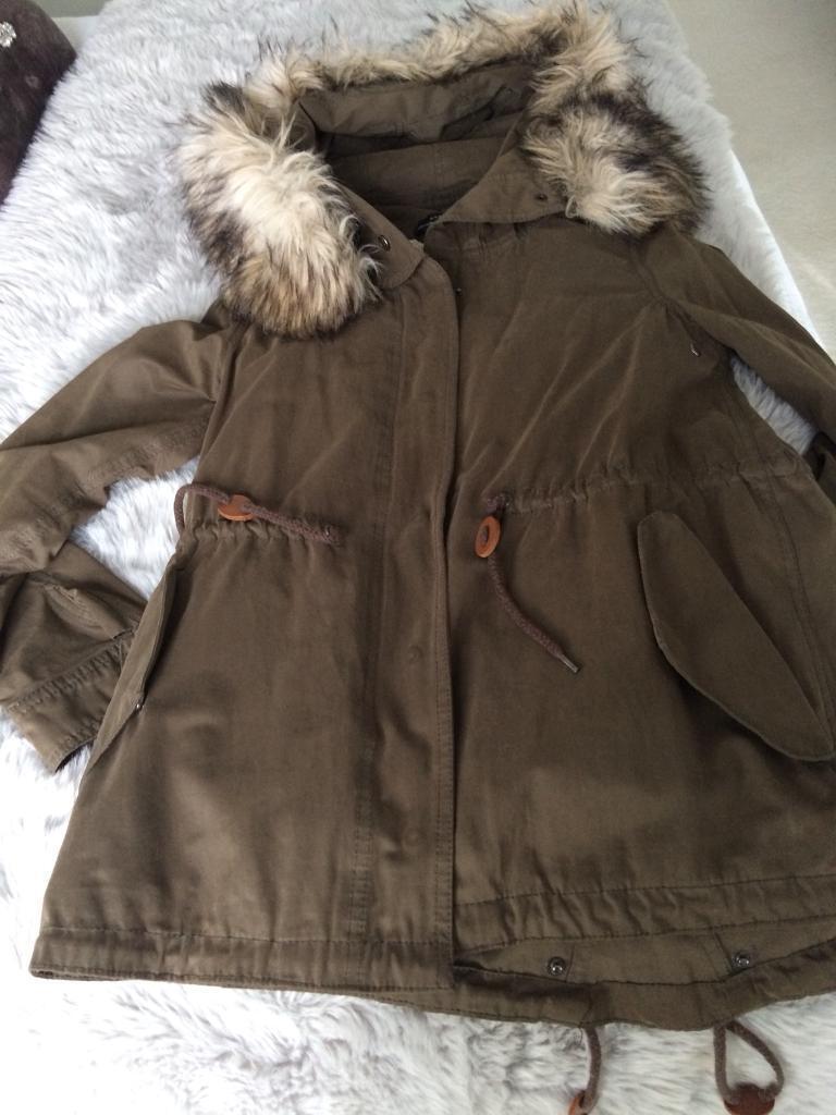 Zara Ladies Parka Coat