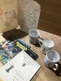 1978 - 1981 Ipswich Town Football Memorabilia, mugs, signatures, annuals
