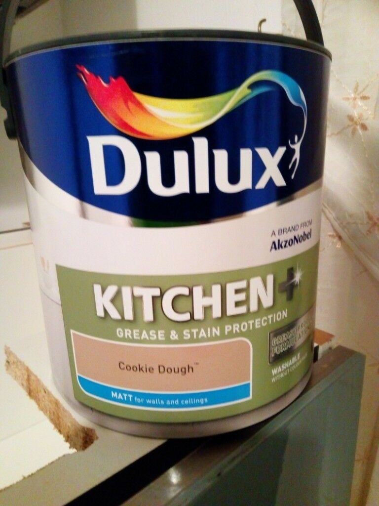 2 Tins 2 5l Dulux Kitchen Paint In Coatbridge North