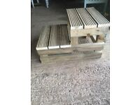 Horse Mounting Blocks (2 or 3 steps)