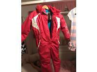 No fear ski suit/ all in one