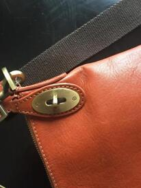Leather Mulberry style bag