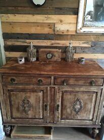 Beautiful Wooden Vintage/ antique style unit