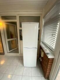 Hotpoint fridge freezer 234 litre virtually brand new