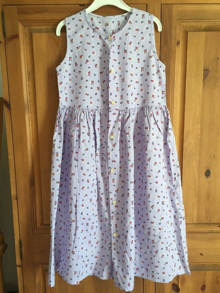 Girls Mothercare purple dress, age 7-8yrs