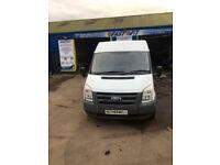 Clean MWB, LWB Vans