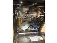 Indesit. Dishwasher. Black. Model. DFG15B1K