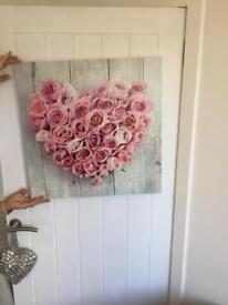 Heart canvas