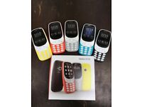 NOKIA 3310 UNLOCKEDD BRAND NEW BOX & WARRANTY