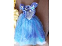 Girls disney princess dresses