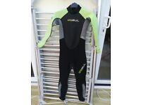 Kids 3mm Gul wetsuit