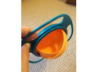 New Baby kid food bowl 360 rotate