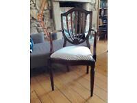 Armchair bedroom chair