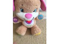 Fisher price soft toy puppy